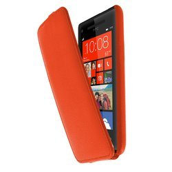 чехол для htc windows phone 8x (lazarr protective case) (оранжевый)