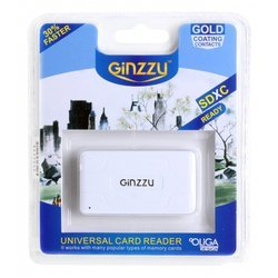 ��������� aii in 1, usb 2.0 (ginzzu gr-416w) (�����)