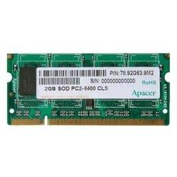 Apacer DDR2 800 ECC SO-DIMM 2Gb