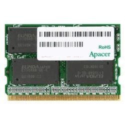 apacer ddr2 800 microdimm 512mb