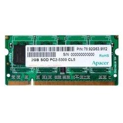 Apacer DDR2 667 ECC SO-DIMM 2Gb