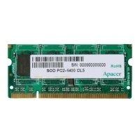Apacer DDR2 800 ECC SO-DIMM 512Mb