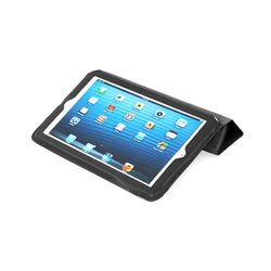 чехол для apple ipad mini (lazarr smart folio case) (черный)