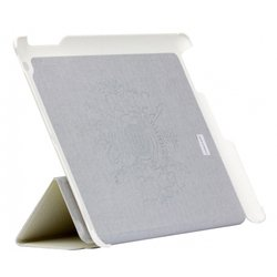 Чехол для Apple iPad 2, 3 (Continent IP-39WT) (белый) (натуральная кожа)