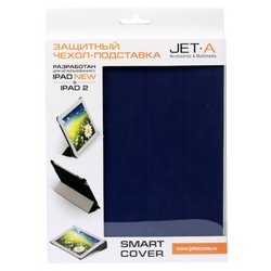 ��������� ����� ��� apple ipad 2, 3, 4 (jet.a ic10-27n smart cover) (�����)