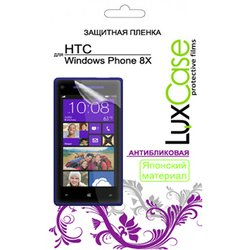 защитная пленка для htc windows phone 8x (luxcase) (антибликовая)
