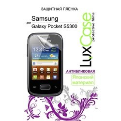 защитная пленка для samsung galaxy pocket s5300 (luxcase) (антибликовая)