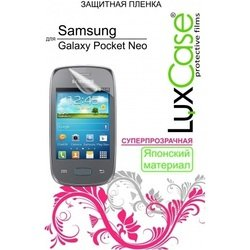 защитная пленка для samsung galaxy pocket neo s5310 (luxcase) (суперпрозрачная)