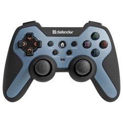 Геймпад Defender Scorpion L1 (черно-синий)