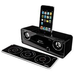 Док-станция Sharp DK-AP8P для iPod / iPhone (30 контактный разъем, цвет: черный)