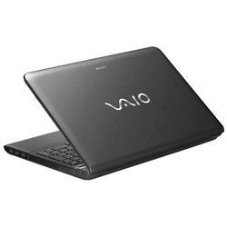 "ноутбук sony vaio sv-e1512q1r/b (core i5 3210m 2.5, 4096, 500, 15,5"" wxga 1366x768, amd hd 7650 1024mb, hdmi, dvd-sm dl, wi-fi, bt, cam, win 8 sl) black"