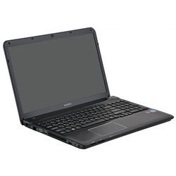 "Sony Vaio SV-E1512Q1R/B (Core i5 3210M 2.5, 4096, 500, 15,5"" WXGA 1366x768, AMD HD 7650 1024MB, HDMI, DVD-SM DL, Wi-Fi, BT, Cam, Win 8 SL) Black"