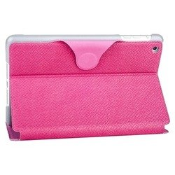 чехол для apple ipad mini (yoobao ifashion leather сase) (розовый)