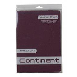 """Универсальный чехол для планшетов 10"""" (Continent UTH-102 VT) (фиолетовый)"""