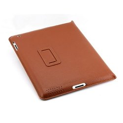 чехол для apple ipad 2, ipad 3 new, ipad 4 (yoobao executive leather сase) (коричневый)