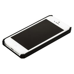 чехол для apple iphone 5 (jisoncase back cover) (черный)