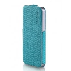чехол для samsung galaxy note 2 n7100 (yoobao fashion case) (голубой)