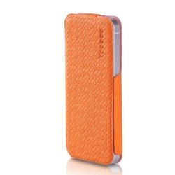 чехол для samsung galaxy note 2 n7100 (yoobao fashion case) (оранжевый)