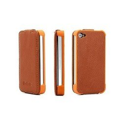 ����� ��� apple iphone 4, 4s (yoobao slim leather case) (����������)