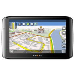 texet tn-610 voice hd cityguide (черный)