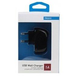 Сетевое зарядное устройство USB (Deppa 23123)