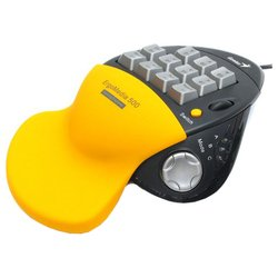 genius ergomedia 500 yellow-black usb+ps/2 (черный/желтый)