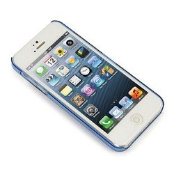 чехол для apple iphone 5, 5s (tucano iph5so-z sottile) (голубой)