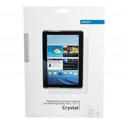 """Защитная пленка для Samsung Galaxy Tab 2 10.1"""" (Deppa) (прозрачная)"""