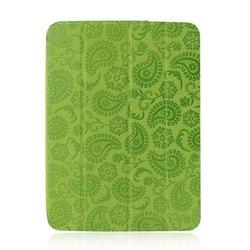 Чехол для Samsung Galaxy Tab 3 10.1 P5200, P5210 (Gissar Paisley 01148) (зеленый)