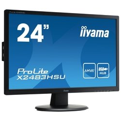 Iiyama ProLite X2483HSU-1 (черный)