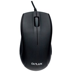Delux DLM-375 Black PS/2