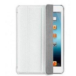 Чехол-подставка для Apple iPad mini (Ultra Cover leather Deppa) (кожа, белый) + защитная пленка