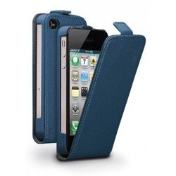 ����� ��� apple iphone 4 / 4s (flip cover deppa) (�����) + �������� ������