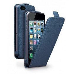 ����� ��� apple iphone 5 / 5s (flip cover deppa) (�����) + �������� ������