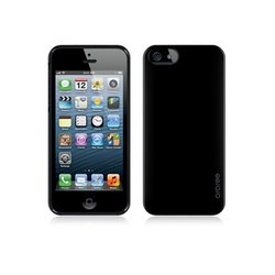 чехол для apple iphone 5, 5s (araree half) (черный)
