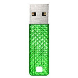 sandisk cruzer facet 16gb electric green (�������)