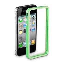 чехол для apple iphone 4/4s (deppa bumper) (зеленый)