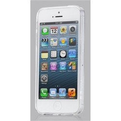 чехол для apple iphone 5, 5s (ggmm iph01007 pure-plus) (белый)