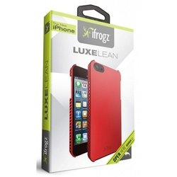 чехол для apple iphone 5, 5s (ifrogz ip5ll-red luxe lean) (красный)