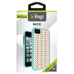 чехол для apple iphone 5, 5s (ifrogz ip5mix-dot mix) (polka dot)