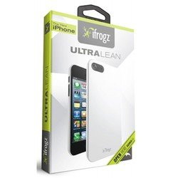 чехол для apple iphone 5, 5s (ifrogz ip5ul-wht ultra lean) (белый)