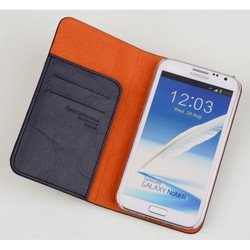 ����� ��� samsung galaxy note 2 (imymee gn2c53141-dn classic leather) (�����-�����)