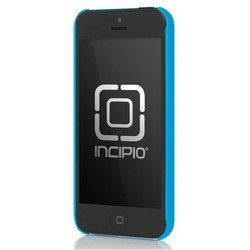 чехол для apple iphone 5, 5s (incipio iph-807 feather) (синий)