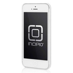 чехол для apple iphone 5, 5s (incipio iph-964 feather) (белый)
