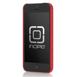 чехол для apple iphone 5, 5s (incipio iph-810 feather) (красный)