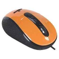 manhattan righttrack mouse (177696) orange usb