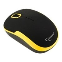 gembird musw-200 black-yellow usb (черный/желтый)