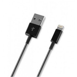 ����-������ Lightning - USB ��� Apple iPhone 5, 5C, 5S, 6, 6 plus, iPad 4, Air, Air 2, mini 1, mini 2, mini 3 (Deppa 72115) (������)