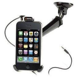 Автомобильный держатель для Apple iPhone 4 + HandsFree + автомобильное зарядное устройство (Griffin GC17116)