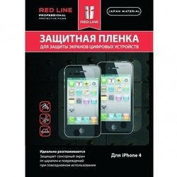 �������� ������ ��� apple iphone 4, 4s (red line yt000001890) (���������) (������)